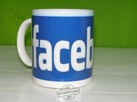 Facebook bögre