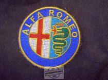 Hímzett Alfa Romeo logó