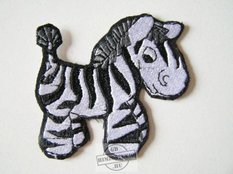 Zebra felvarró