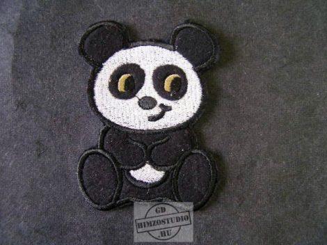 Panda macis felvarró
