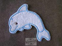 Hímzett delfin