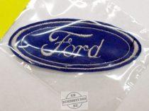 Hímzett Ford logó