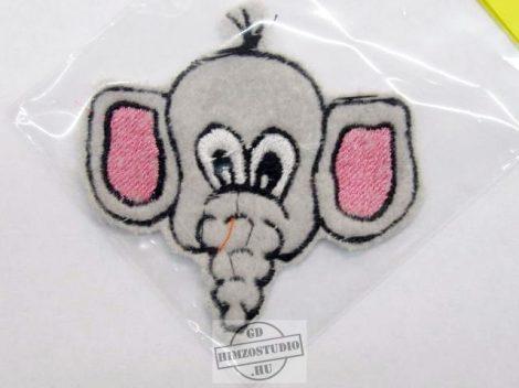 Elefánt  fej felvarró