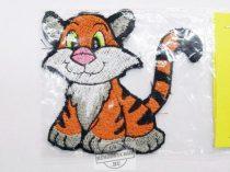 Hímzett tigris