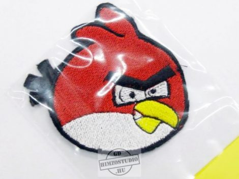 Angry birds felvarró