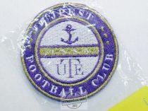 Hímzett Újpest logo