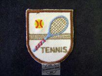 Hímzett tenisz felvarró