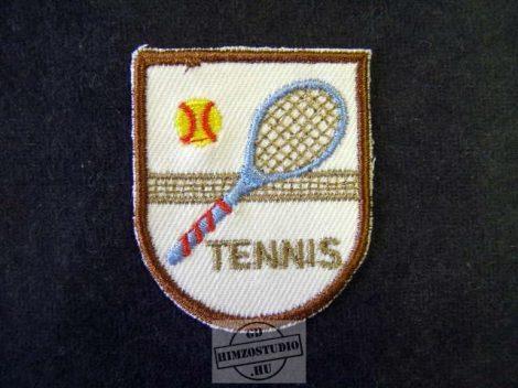 Tenisz felvarró