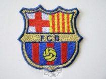 Hímzett Barcelona logó