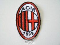 Hímzett AC Milán logó