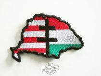Nagy-Magyarország 4 felvarró