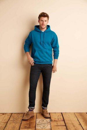 Kapucnis belebújós pulóver