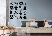 Karácsonyi dekor 16 db