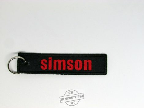 Simson kulcstartó