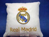 Hímzett Real Madrid párna