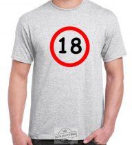 18-as karika póló
