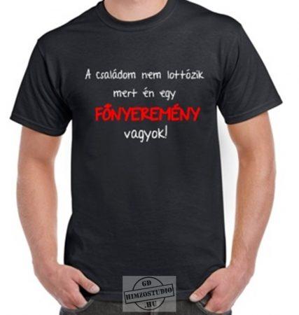 Főnyeremény póló