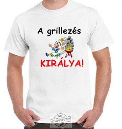 Grillezés királya póló