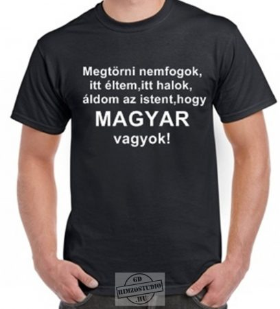 Magyar vagyok póló