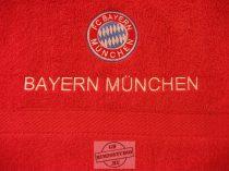 Hímzett Bayern München törölköző
