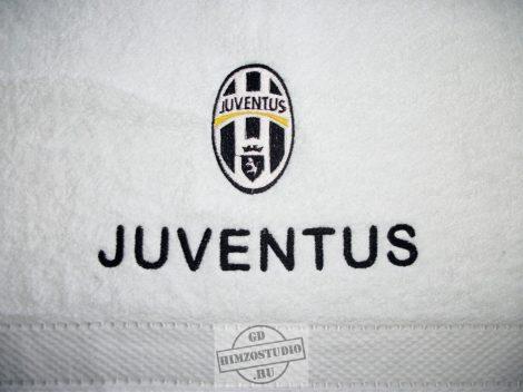 Hímzett Juventus törölköző