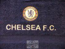 Hímzett Chelsea törölköző