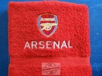 Hímzett Arsenal törölköző