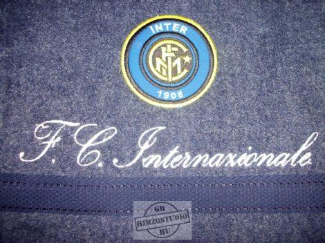 Hímzett FC Inter  törölköző